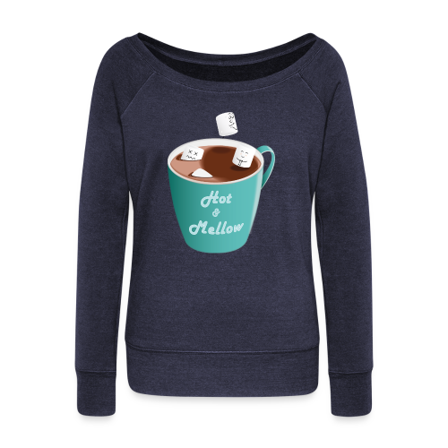 Hot & Mellow - foodcontest - Women's Boat Neck Long Sleeve Top