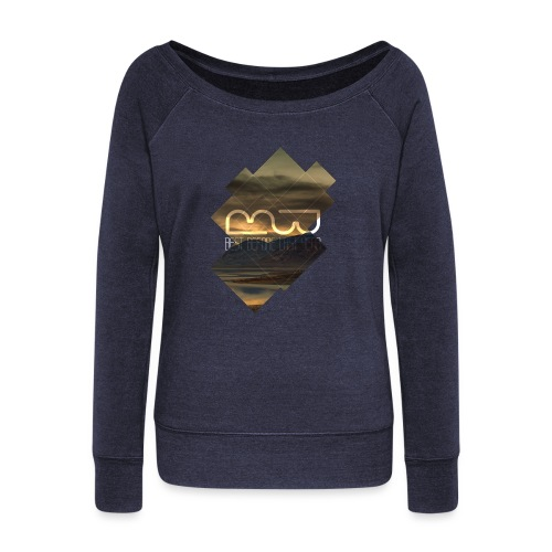 Women's shirt Album Cover - Women's Boat Neck Long Sleeve Top