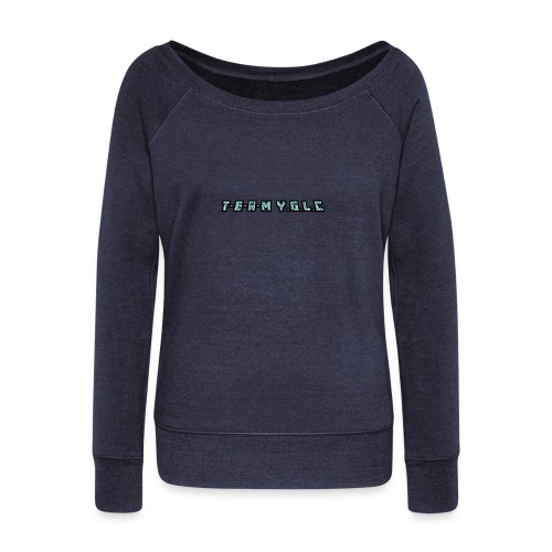 Limited Edition T-E-A-M-YGLC T-shirt - Women's Boat Neck Long Sleeve Top