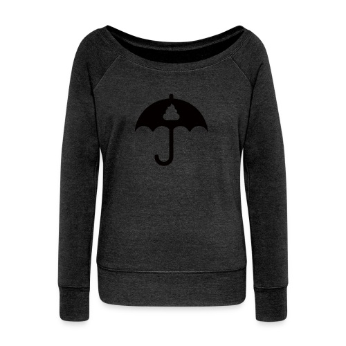Shit icon Black png - Women's Boat Neck Long Sleeve Top