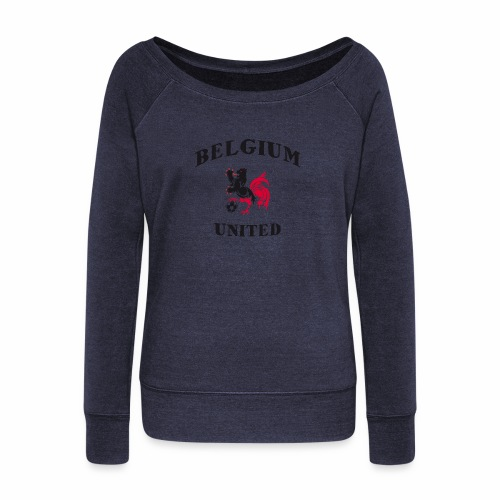 Belgium Unit - Women's Boat Neck Long Sleeve Top