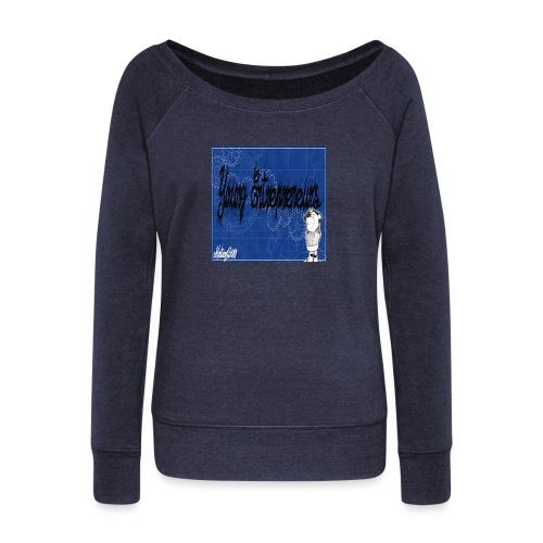 young_go_getter - Women's Boat Neck Long Sleeve Top