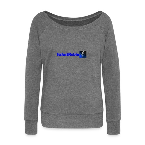 Eerste design. - Women's Boat Neck Long Sleeve Top