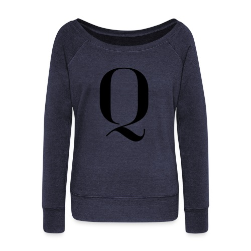 Q - Women's Boat Neck Long Sleeve Top