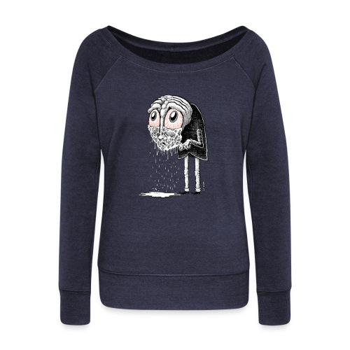 Crybaby 1 - Women's Boat Neck Long Sleeve Top