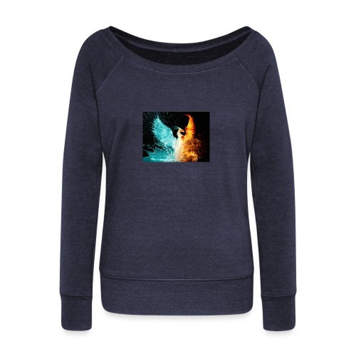 Elemental phoenix - Women's Boat Neck Long Sleeve Top