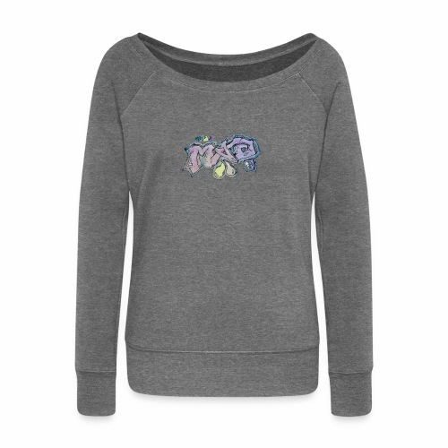 Life Is Mad TM Collaboration - Women's Boat Neck Long Sleeve Top