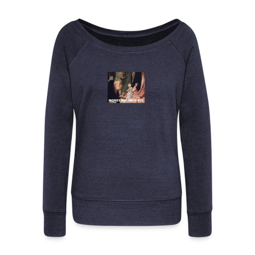 Worst Records 002 - Women's Boat Neck Long Sleeve Top