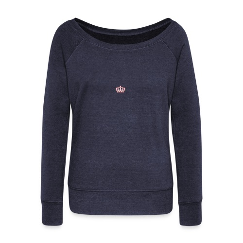 AMMM Crown - Women's Boat Neck Long Sleeve Top