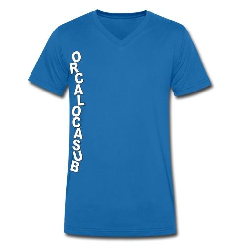 ScrittaOrcaV - T-shirt ecologica da uomo con scollo a V di Stanley & Stella