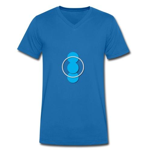 Circle - Camiseta ecológica hombre con cuello de pico de Stanley & Stella