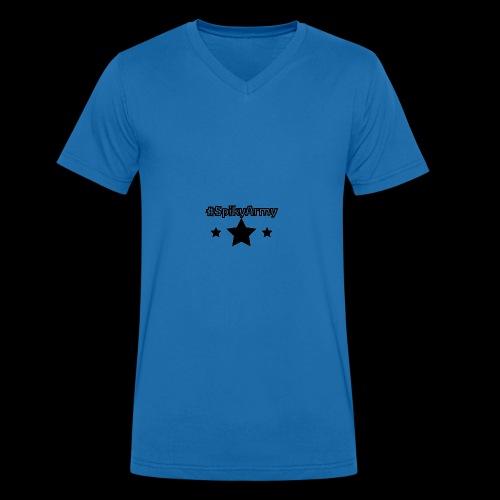 #SpikyArmy - Männer Bio-T-Shirt mit V-Ausschnitt von Stanley & Stella