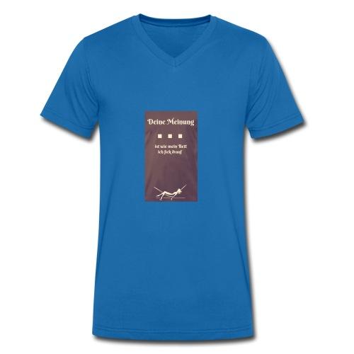2018 - Männer Bio-T-Shirt mit V-Ausschnitt von Stanley & Stella