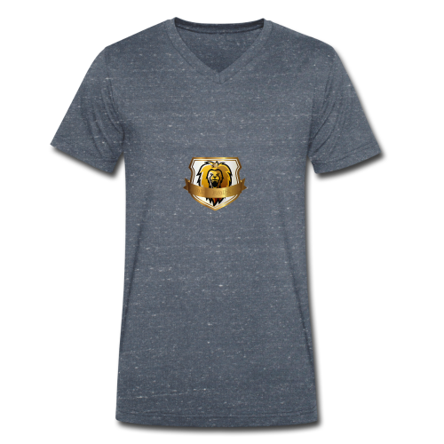 THE ROYAL LION - Men's Organic V-Neck T-Shirt by Stanley & Stella