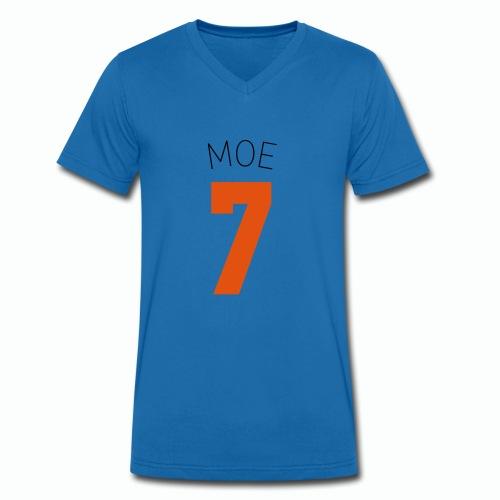 TEAM NUGENAU backsideMOE - Männer Bio-T-Shirt mit V-Ausschnitt von Stanley & Stella