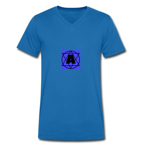 Copy of Copy of Copy of Baby Boy 1 - Men's Organic V-Neck T-Shirt by Stanley & Stella