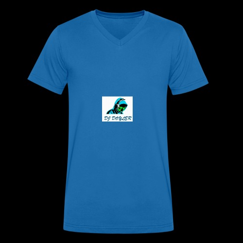 DJ Doyler - Men's Organic V-Neck T-Shirt by Stanley & Stella