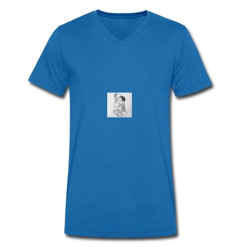 jongen meisje - Mannen bio T-shirt met V-hals van Stanley & Stella