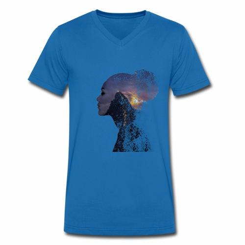 In der Ruhe liegt die Kraft - Männer Bio-T-Shirt mit V-Ausschnitt von Stanley & Stella