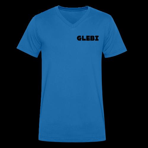Glebi Shirt - Männer Bio-T-Shirt mit V-Ausschnitt von Stanley & Stella