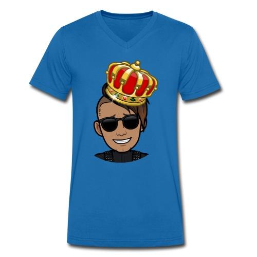 Hadi DK - Økologisk Stanley & Stella T-shirt med V-udskæring til herrer