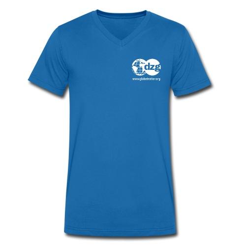 Schrifttzug - Männer Bio-T-Shirt mit V-Ausschnitt von Stanley & Stella