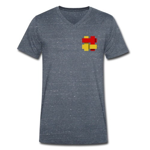 The Kilted Coaches LOGO - Men's Organic V-Neck T-Shirt by Stanley & Stella