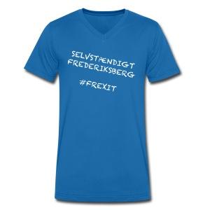 Selvstændigt Frederiksberg #FREXIT - Økologisk Stanley & Stella T-shirt med V-udskæring til herrer