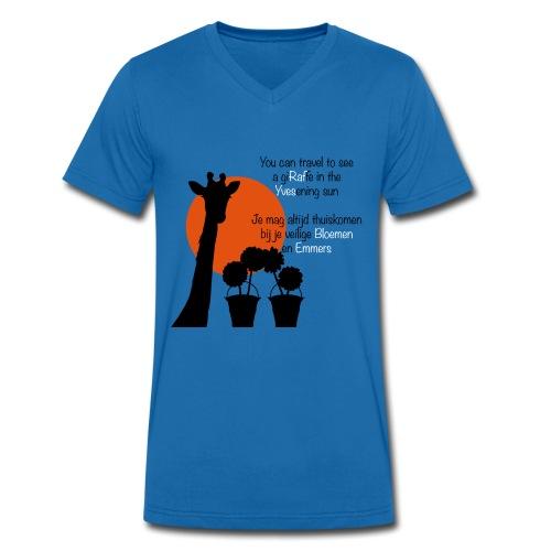 WimTshirtAF - Mannen bio T-shirt met V-hals van Stanley & Stella