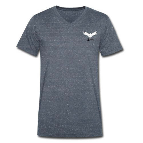 Eagles logo design - Men's Organic V-Neck T-Shirt by Stanley & Stella