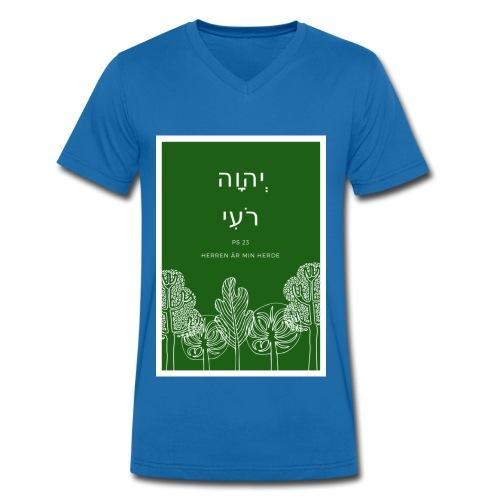 Adonaj roi - Ekologisk T-shirt med V-ringning herr från Stanley & Stella