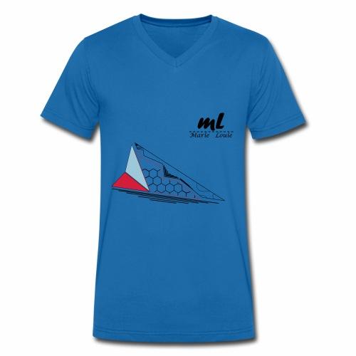 FormenxX - Männer Bio-T-Shirt mit V-Ausschnitt von Stanley & Stella