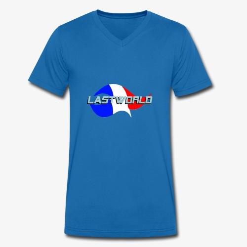 Collection LastWorld Drapeau Français - T-shirt bio col V Stanley & Stella Homme