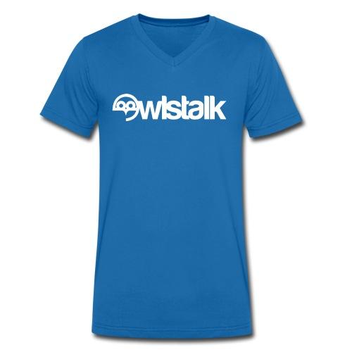 OWLSTALK SWFC FORUMS LOGO - Men's Organic V-Neck T-Shirt by Stanley & Stella