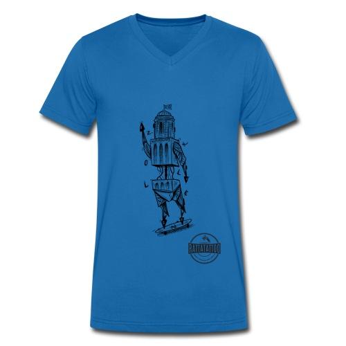 ZWOLLE 038 rattatattoo zwolle perperbus - Mannen bio T-shirt met V-hals van Stanley & Stella