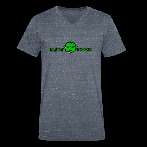 The Blunt Force - Ekologisk T-shirt med V-ringning herr från Stanley & Stella