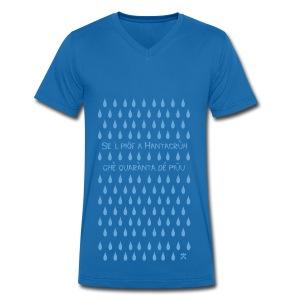 Se al Piof - T-shirt ecologica da uomo con scollo a V di Stanley & Stella