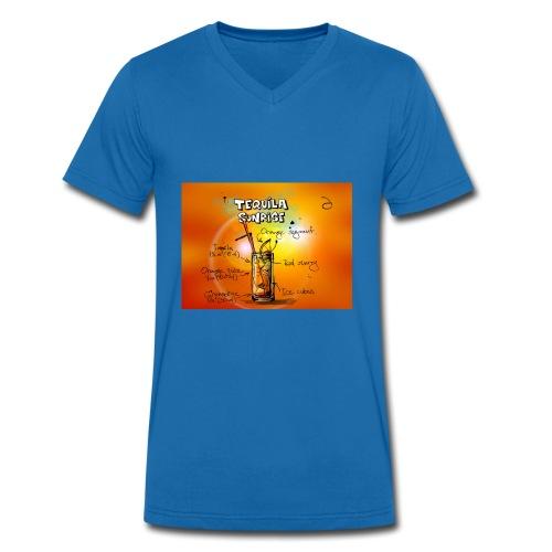 tequila sunrise - Männer Bio-T-Shirt mit V-Ausschnitt von Stanley & Stella