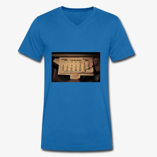 Dividenden-Kalender.net - Männer Bio-T-Shirt mit V-Ausschnitt von Stanley & Stella
