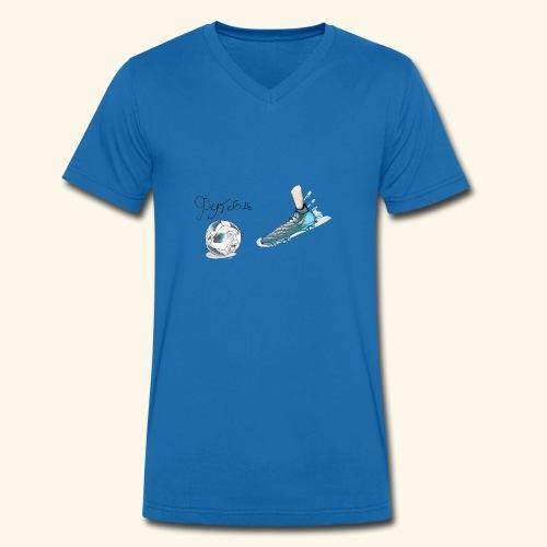Footpain - Men's Organic V-Neck T-Shirt by Stanley & Stella