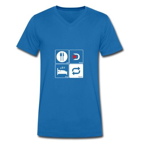Life of a Dtuber - T-shirt bio col V Stanley & Stella Homme