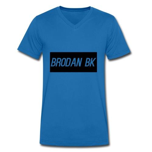 brodan bk - Men's Organic V-Neck T-Shirt by Stanley & Stella