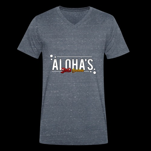 Aloha's Deluxe - Männer Bio-T-Shirt mit V-Ausschnitt von Stanley & Stella