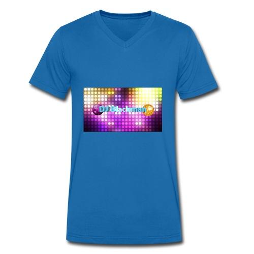 DJ Blackman - Männer Bio-T-Shirt mit V-Ausschnitt von Stanley & Stella