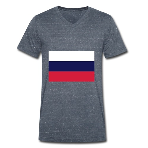 russia 26896 - Männer Bio-T-Shirt mit V-Ausschnitt von Stanley & Stella