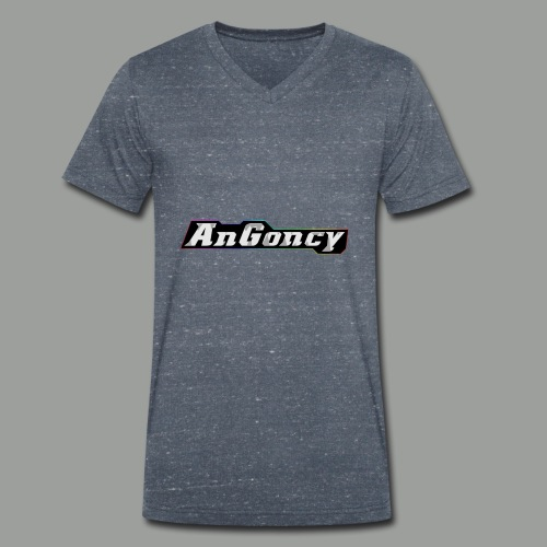 My new limited logo - Men's Organic V-Neck T-Shirt by Stanley & Stella
