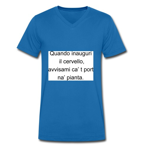 inaugurazione - T-shirt ecologica da uomo con scollo a V di Stanley & Stella