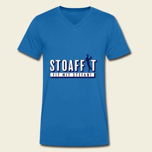 STOAFFIT - Fit mit Stefan - Männer Bio-T-Shirt mit V-Ausschnitt von Stanley & Stella