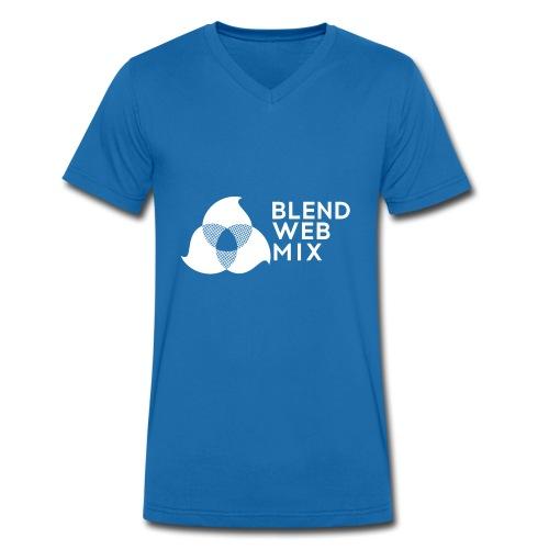 logo bland - T-shirt bio col V Stanley & Stella Homme