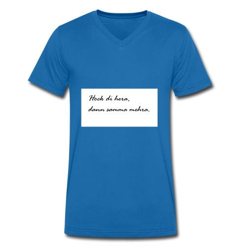 Hock di hera - Männer Bio-T-Shirt mit V-Ausschnitt von Stanley & Stella